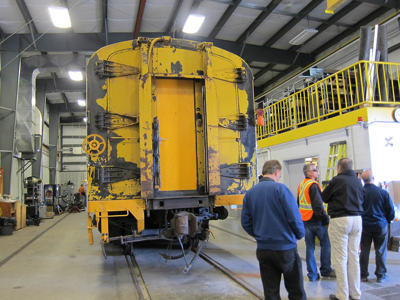 Ontario Northland Railway Historical and Technical Society tour of ONR Cochrane shops.