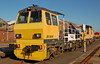 Network Rail Tramm Dr98306 at Eastleigh works 23/05/2009.