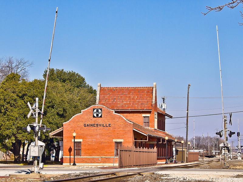 AmTrak, Gainsville 01-19-11