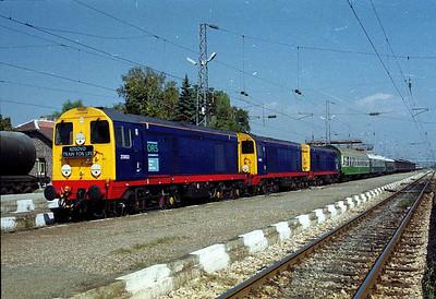 By Train to Kosovo September 1999