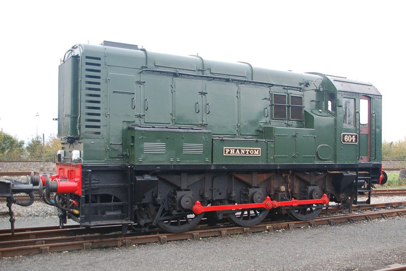 604 (08604) Phantom - Didcot Railway Centre - 30 October 2011