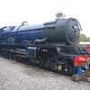 6023 King Edward II - Didcot Railway Centre - 30 October 2011
