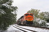 BNSF 9374 SD70ACe, southbound coal load, Colorado Springs Colorado, October 18, 2006