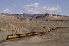 Union Pacific westbound freight train, Thompson, Utah.