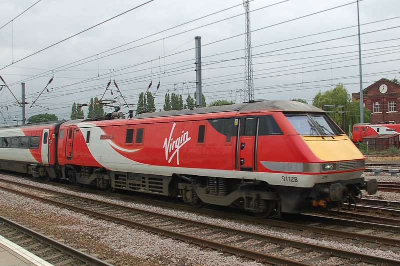 91128 Intercity 50 - Doncaster - 30 June 2017