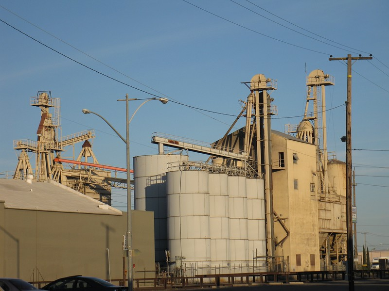 Feed Mill - JS West Milling Company - 9th and G Streets, Modesto, CA