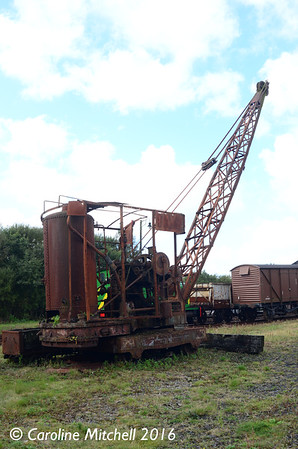 Smiths of Rodley Steam Crane, Dunaskin, 25th September 2016