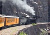 The historic Durango & Silverton Narrow Gauge has been in continuous operation for nearly 125 years, carrying passengers behind vintage steam locomotives on its way to Silverton from Durango, Colorado.