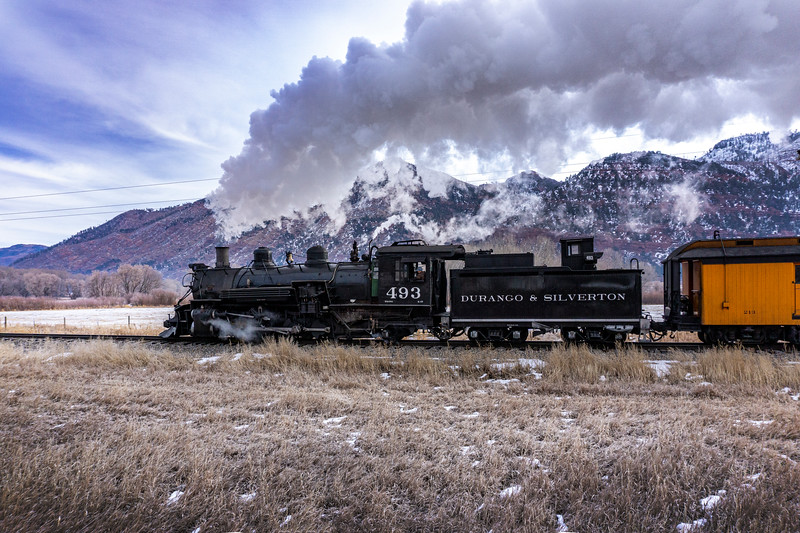 Cold morning steam!