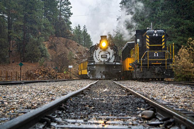 493 and Diesel 11, Rockwood 11/7/20