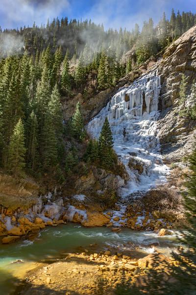 Cataract Canyon waterfall