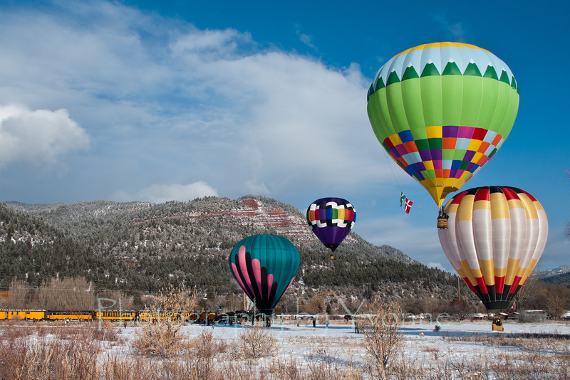 D&SNG sponsors the Snowdown Balloon Mass Ascension. 2/4/12