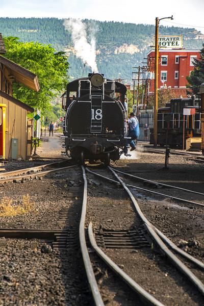 SP 18 in Durango Yard