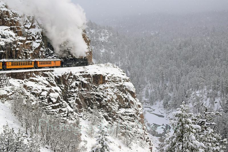 Cascade Canyon Winter Train