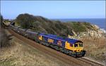 13.37 Tyne Coal Terminal-Drax loaded hoppers at Hawthorn Dene.