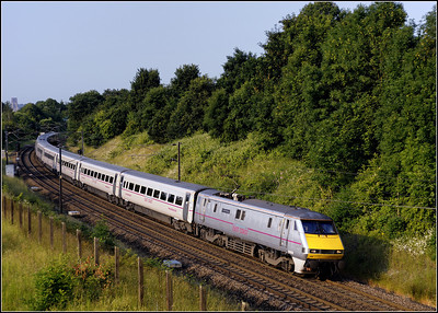 2013 07 06 91109 07.22 Doncaster-Edinburgh ECML. service at Newton Hall.