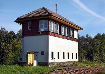 Muncheberg signal box. 22nd September 2010.