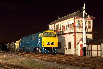 EMRPS Night shoot Swanwick Junction, Midland Railway Centre. 26th February 2011