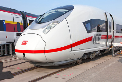 Velaro D High Speed Train (ICE 4). Innotrans September 2010.