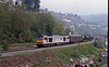 It was at this time I discovered the Ebbw Vale line. At Llanhilleth the 11:52 Margam to Ebbw Vale carrying steel plate and steel coil for the tinplating works. It was a very sad day when Corus closed Ebbw Vale in 2002.