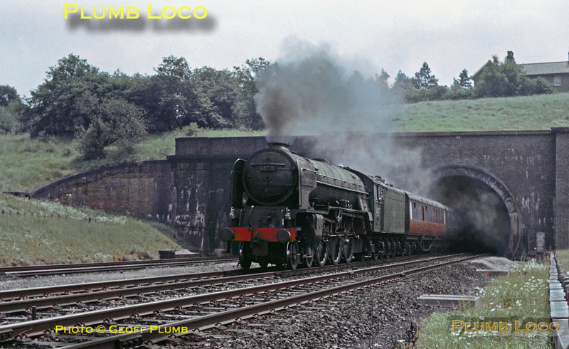 "60117, ""Bois Roussel"", Hadley North Tunnel, 15th June 1963"