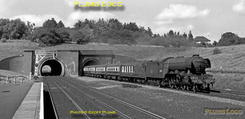 """60059 """"Tracery"""", Hadley Wood, 4th August 1962"""