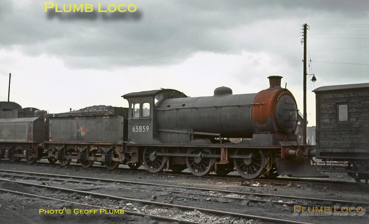 65859, Darlington MPD, 1st August 1965