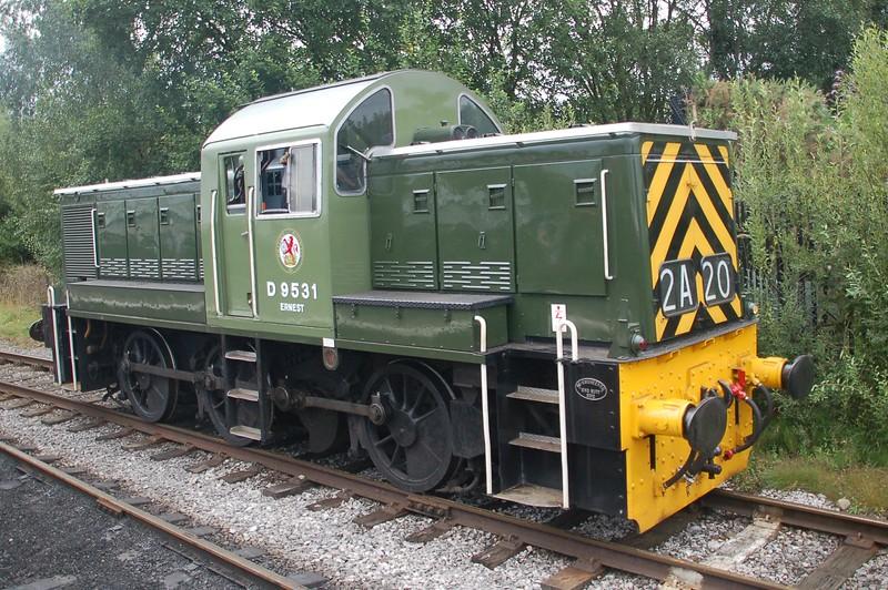 D9531 Ernest - East Lancashire Railway - 18 August 2018