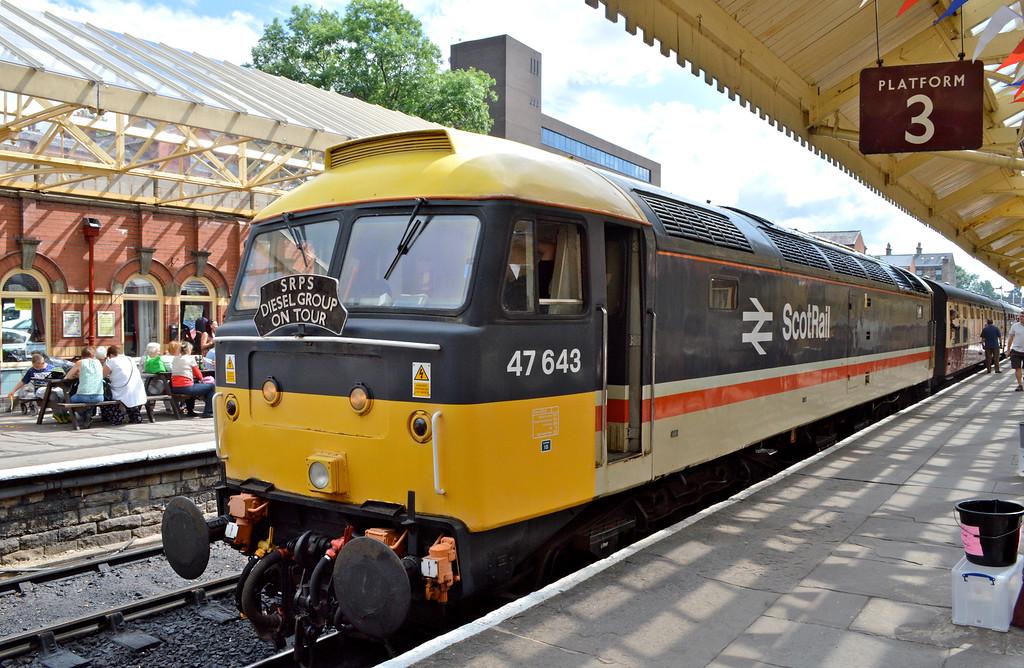 47643 ready to depart Bury.
