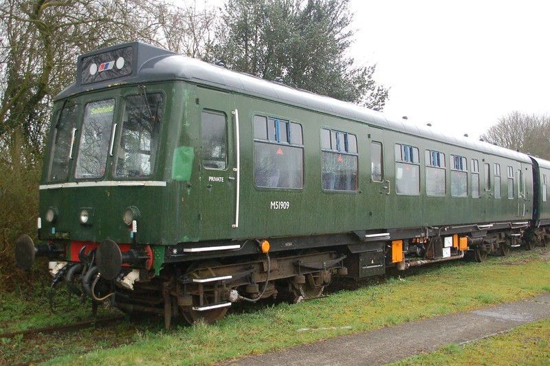 Dmu M51909 - East Somerset Railway - 15 April 2018