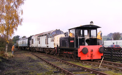Another shot of Darlington hauling 37250 on 6th November 2011.