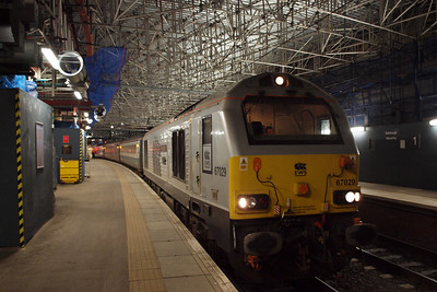 67029 under the roof at Waverley.