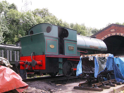 Another view of Mardy Monster (Peckett 2150/1954)
