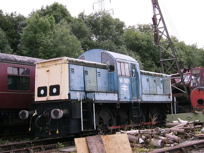 Swindon built BR loco 14 901