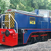 YE 2895 Earl of Strafford - Elsecar Heritage Railway - 14 June 2014