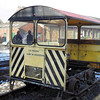 10645 (DB 965949) Wickham Type 27A Trolley -  Elsecar Steam Railway, 11.02.12  Roy Morris
