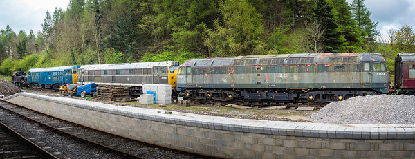 Diesels at Bolton Abbey