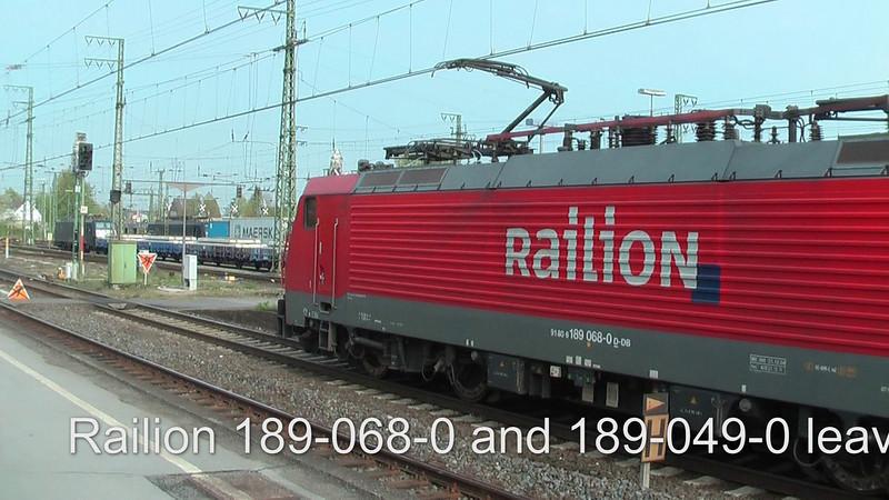 Railion 189-068-0 and 189-049-0