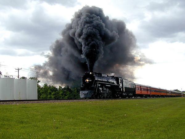 Engine 261 (Trip to Wilmar MN)