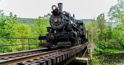 Everett Railroad steam train