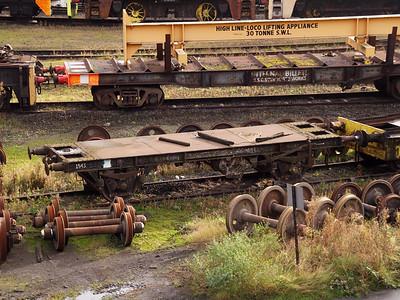 Ex BR Internal User Wagons