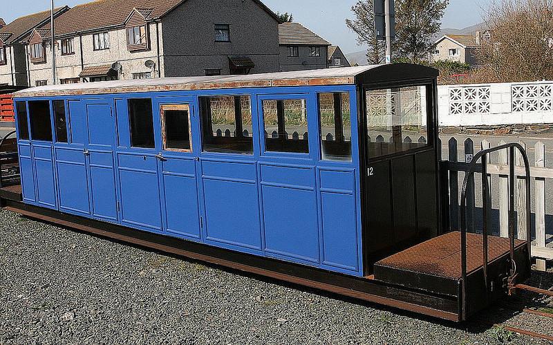 12 Third 4 Comp Enclosed with 2 x End Balcony - Fairbourne Railway 24.03.12 PRAR