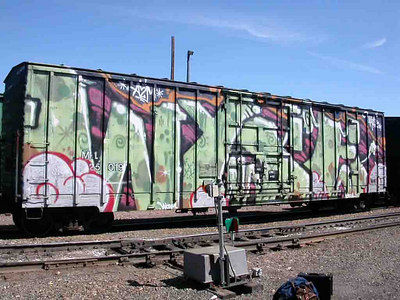 2003-04-21 11:02:19 The Graffitti Mothership lands in Helena, Montana