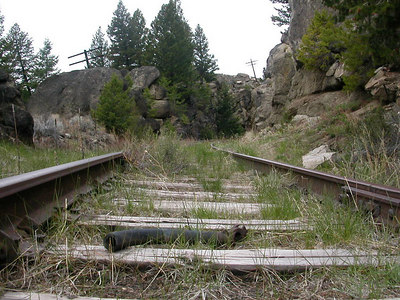 2004-05-19 10:16:26 Homestake Pass - near Butte, Montana abandoned NP line near butte, Montana