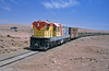 After a short while it set off along the FCAB mainline heading either north east towards Baquedano and Calama or east south-east along the Socompa line. I just took this picture and then we turned round and headed down into Antofagasta.