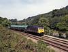 The 09:18 6B03 Swansea to Newport ADJ Connectrail service alongside the A473 near Llanharan.