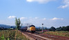 Later on in the afternon the 6V66 empty tanks from St Helens to Cardiff Tidal approaches Craven Arms