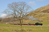Some 40 minutes behind the special came pioneer Garratt K1 with the service train to Rhyd Ddu