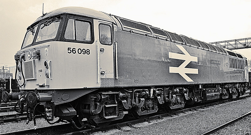 56098 at St. Phillips Marsh open day 2/5/16.