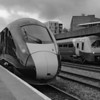 800005 1B20 0945 Paddington to Swansea at Cardiff Central 18/8/18.